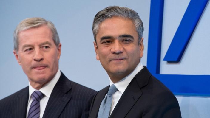 Die Chefs der Deutschen Bank, Anshu Jain und Jürgen Fitschen