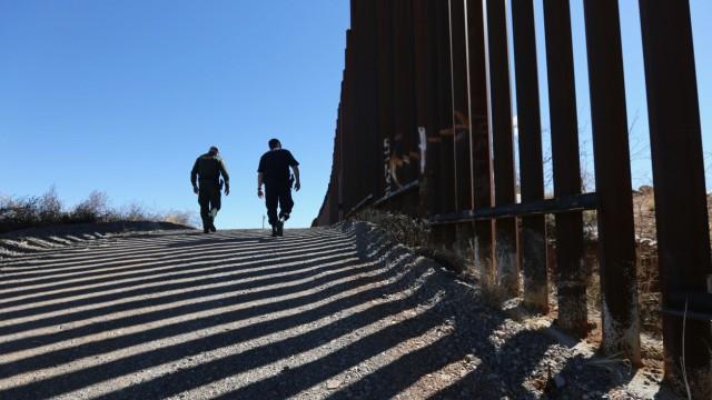 US-Grenzpatrouille an der mexikanischen Grenze