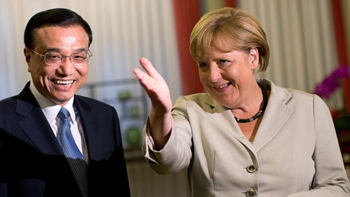 Chinas Premier Li Keqiang kommt nach Deutschland