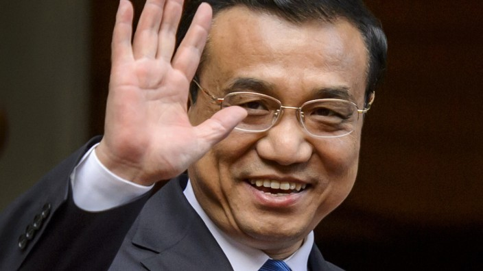 Chinesischer Premier Li Keqiang