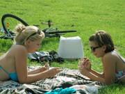 Englischer Garten; Sommer; Sonne; Foto: Alice Peterhänsel