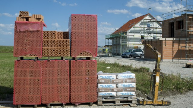 Neubaugebiet in Maisach, 2012
