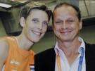 Volleballspielerin Ingrid Visser und ihr Freund Lodewijk Severein