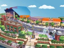 Simpsons Themenpark Orlando Universal