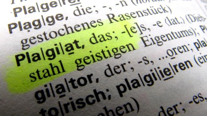 Plagiats-Check an hessischen Universitäten