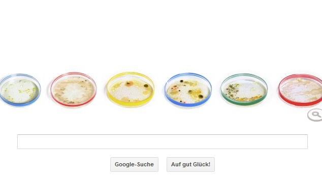 Google Doodle Julius Richard Petri Petrischale Petrischalen