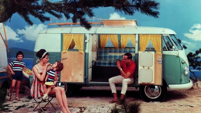 Katzenwäsche und Dosenravioli - Urlaub im historischen Reisemobil