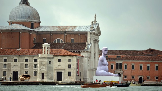 Biennale Venedig Skulptur Marc Quinn