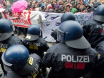 Blockupy-Proteste in Frankfurt am Main