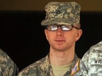 Bradley Manning vor Gericht Wikileaks-Informant