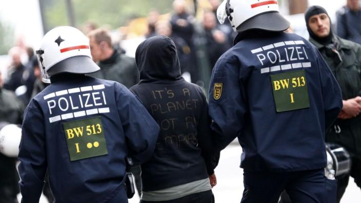 Blockupy in Frankfurt Main