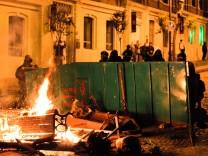 Türkei, Proteste, Istanbul, Besiktas