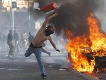 Proteste gegen Arbeitslosigkeit