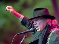 Auftakt der Deutschland-Tour von Neil Young