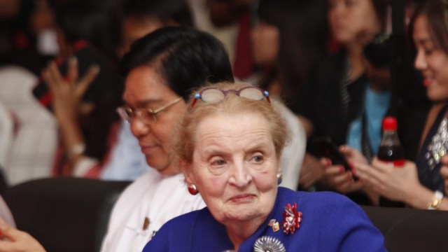 Madeleine Albright Coca-Cola Myanmar Burma