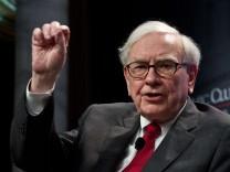 US-Milliardär Warren Buffett kauft amerikanische Zeitungen auf