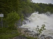 Hochwasser Sylvensteinstausee