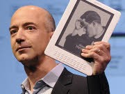 Amazon Kindle Jeff Bezos AFP