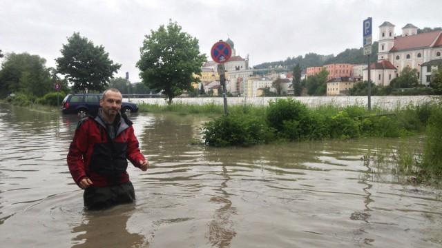 Hochwasser in Bayern Hochwasser in Bayern
