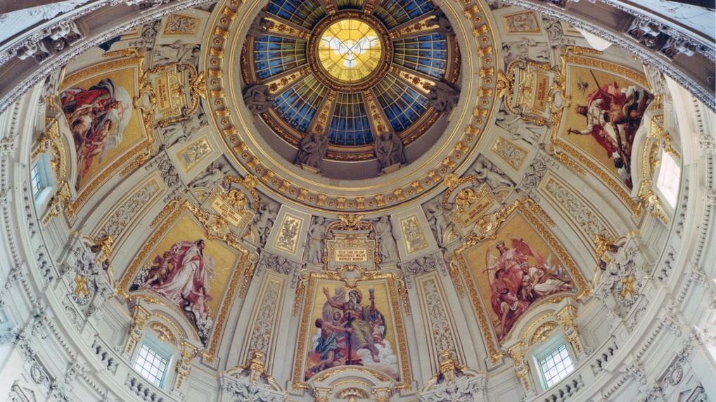 Restaurierung Des Berliner Doms Heute Sind Die Mosaike