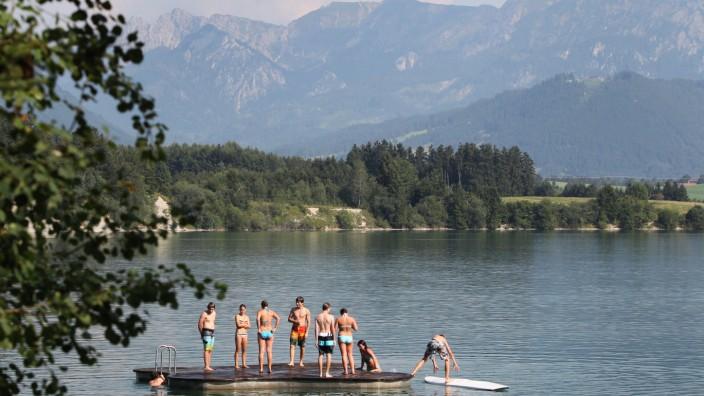 Sommerwetter in Bayern