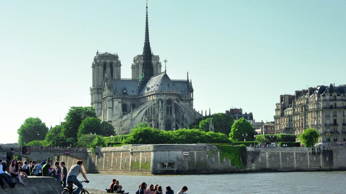 Zwischen Afromarkt und Notre-Dame