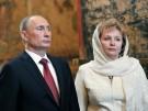 Wladimir Putin und seine Frau Ljudmila kurz nach seiner Wiederwahl zum russischen Präsidenten.
