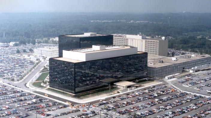 Zentrale des Geheimdienstes NSA aus der Luft