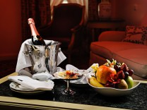 Champagner Hotel Zimmerservice