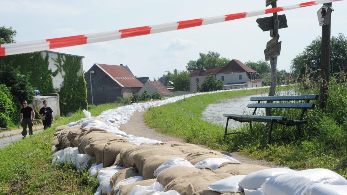 Sieben Tote durch Hochwasser in Deutschland
