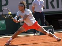 Rafael Nadal steht zum achten Mal im Finale der French Open in Paris