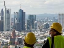 Richtfest EZB in Frankfurt am Main