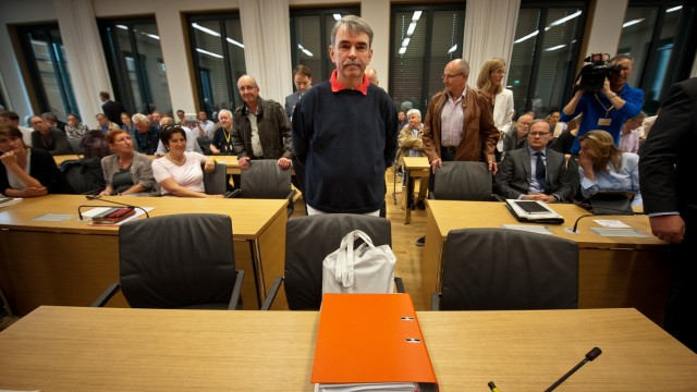 Gustl Mollath Testifies In Bavarian Parliament