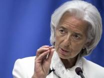 Christine Lagarde IWF