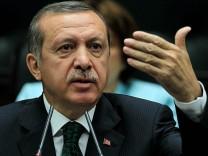 Türkischer Premier Recep Tayyip Erdoğan