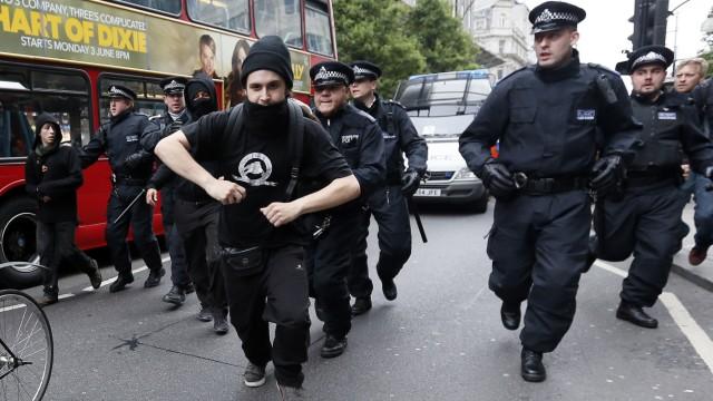 Proteste gegen G8
