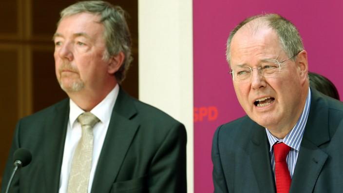 Rolf Kleine ist der neue Sprecher von SPD-Kanzlerkandidat Peer Steinbrück