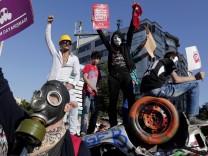 Anti-government protests in Turkey continue