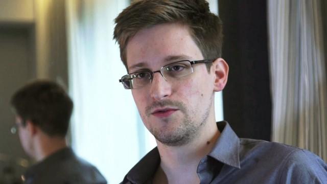 Edward Snowden in Honkongn Prism Internet-Überwachung