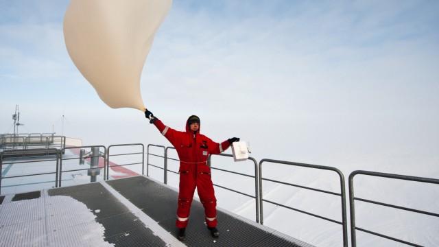 Ozonmessung in der Antarktis