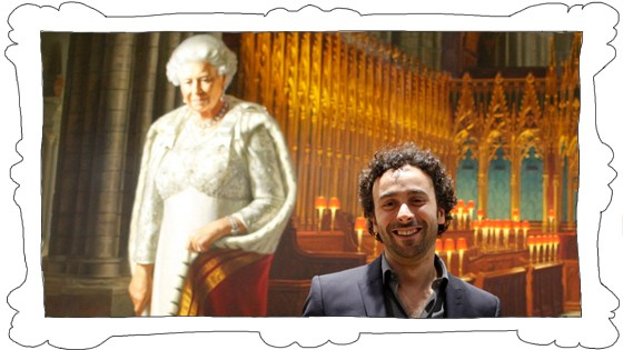 Queen Porträt Heimans Promiblog Westminster Abbey
