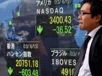 Nikkei Stock average plunged 6.3 percent