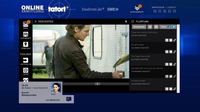 """Spiel auf Zeit; Stuttgarter Tatort """"Spiel auf Zeit""""; """"Tatort+"""""""