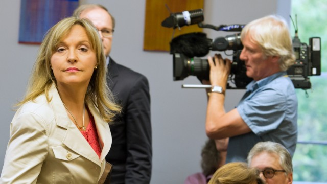 Justizministerin Merk vor Mollath-Untersuchungsausschuss