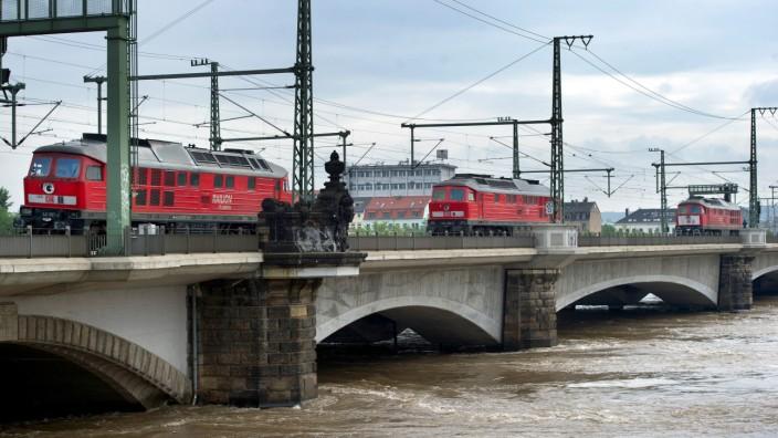 Hochwasser Sachsen - Dresden