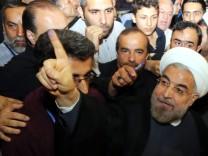 Präsidentenwahl - Stimmabgabe Ruhani