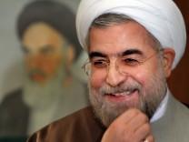 Irans Präsident Hassan Rohani Syrien