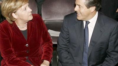 Merkel: Staatsgeld für Bankier