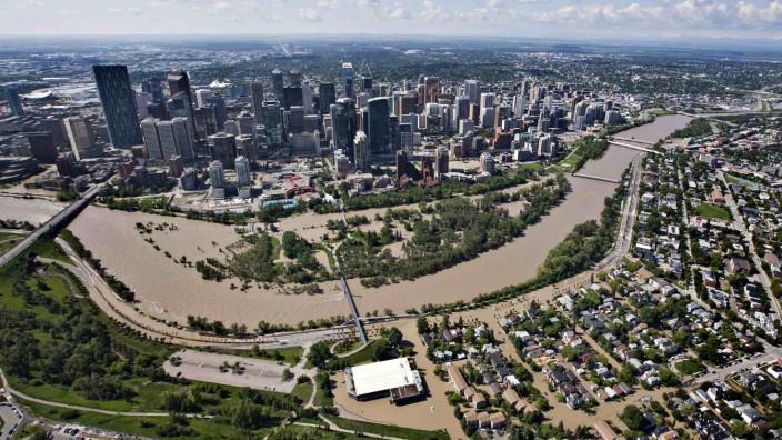 Hunderttausend Menschen fliehen in Kanada vor dem Hochwasser