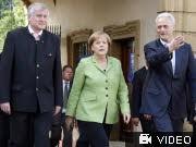 Kloster Banz CSU-Landesgruppe Ramsauer Merkel AP